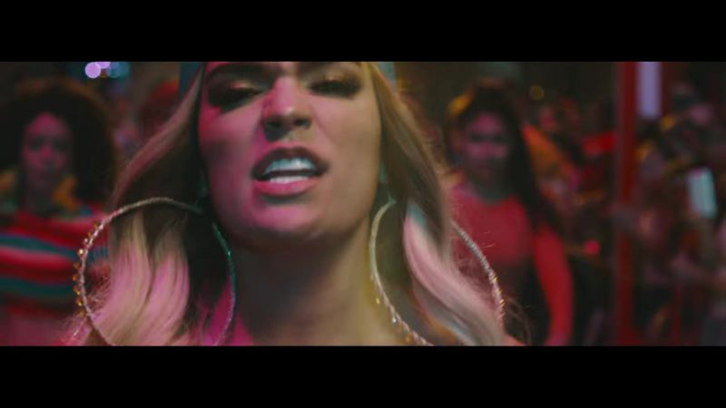Big Hoop Earrings Worn by Karol G in Mi Cama Music Video