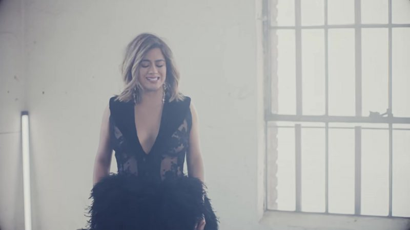 Black Dress Worn by Ally Brooke in Don't Say You Love Me by Fifth Harmony Music Video