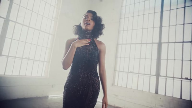"Black Dress Worn by Normani Kordei Hamilton in ""Don't Say You Love Me"" by Fifth Harmony Music Video - Female Fashion"