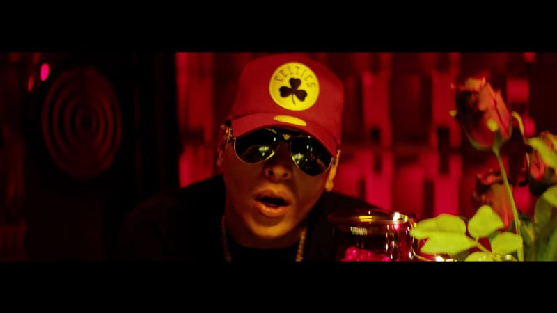 Celtics Cap in Te Bote Remix by Casper, Nio García, Darell, Nicky Jam, Bad Bunny, Ozuna - Youtube Outfits and Products