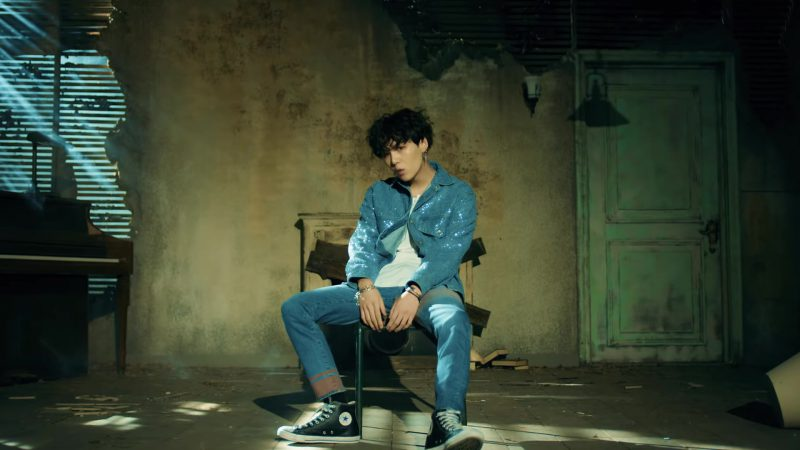 Converse Sneakers, Jeans and Jacket in BTS (방탄소년단) 'FAKE LOVE' Music Video