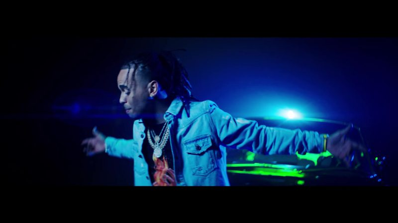 Denim Jacket in Te Bote Remix by Casper, Nio García, Darell, Nicky Jam, Bad Bunny, Ozuna Music Video - Male Fashion Outfits and Products
