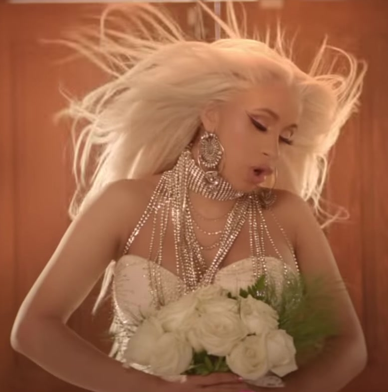 """Fashion Trends 2021: Big Earrings Worn by Cardi B in """"Be Careful"""" Official Music Video"""