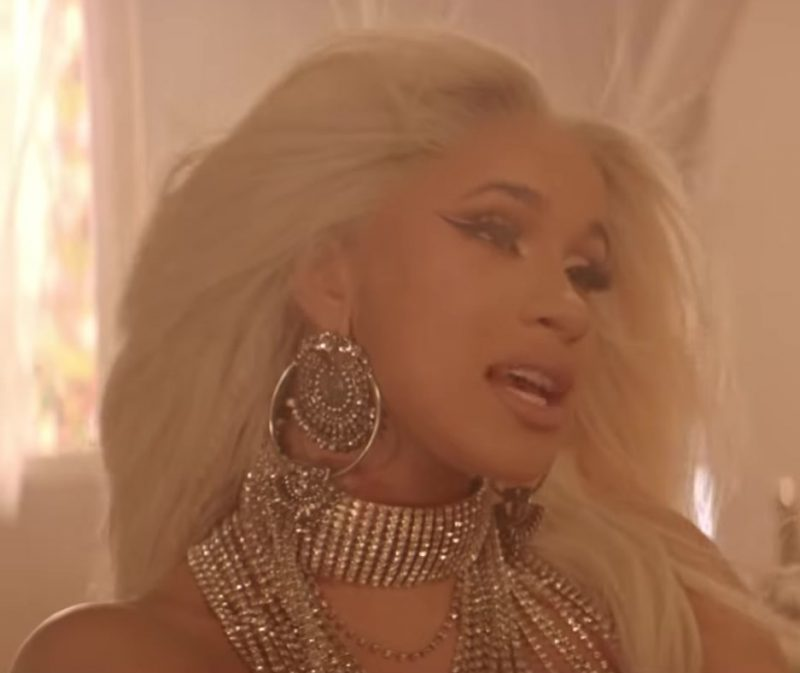 "Big Earrings Worn by Cardi B in ""Be Careful"" Official Music Video"