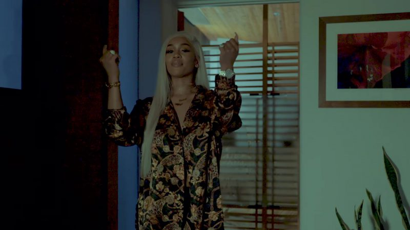 "Floral Shirt Worn by Saweetie in ""Icy Grl"" Official Music Video - Youtube Outfits and Products"