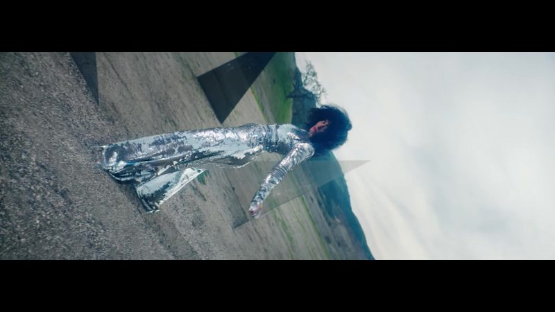 "Sequin/Glitter Jumpsuit in ""Nice For What"" Music Video by Drake - Female Fashion Outfits and Products"