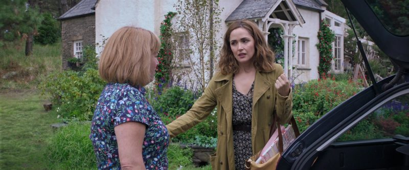 "Long Coat Worn by Rose Byrne in ""Peter Rabbit"" Movie - Female Fashion Outfits and Products"