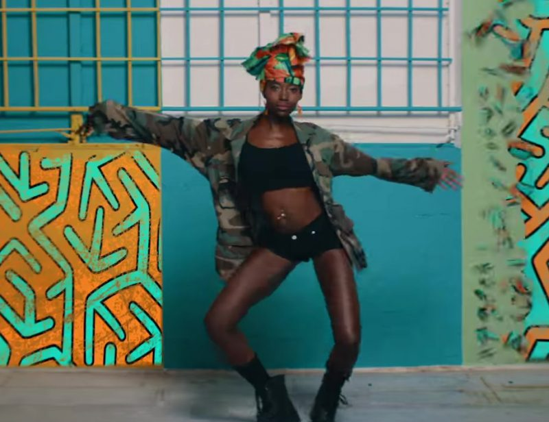 Military Jacket Worn by Model in Mi Gente by J Balvin, Willy William (Official Music Video) - Youtube Outfits and Products