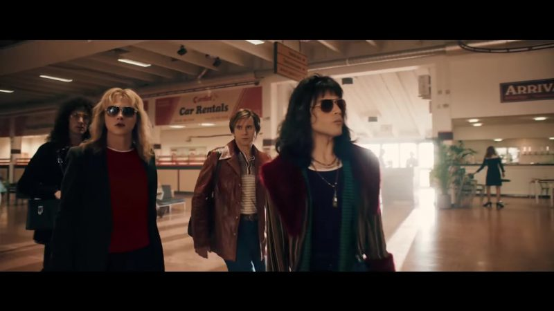 Aviator Sunglasses Worn by Rami Malek in Bohemian Rhapsody - Movie Outfits and Products