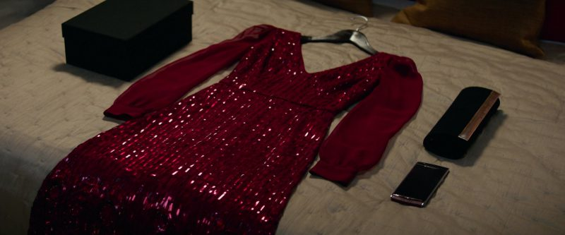 Fashion Trends 2021: Red Long Sleeve Dress Worn by Jennifer Lawrence in Red Sparrow