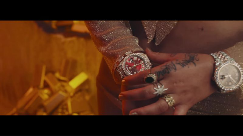Rolex Watch Worn by Karol G in Mi Cama Music Video