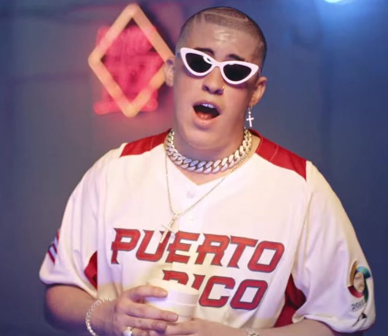 "Sunglasses Worn by Bad Bunny in ""I Like It"" Music Video"