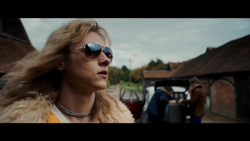 Sunglasses Worn by Ben Hardy in Bohemian Rhapsody Movie