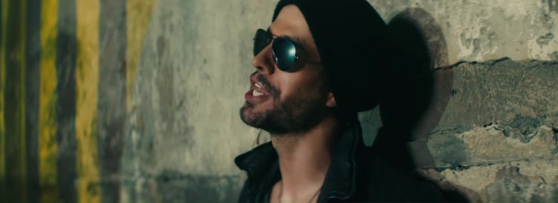 Male  Celebrity Style:  Sunglasses Worn by Enrique Iglesias in Move To Miami Music Video