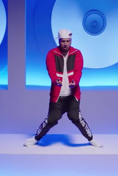 Tommy Jeans, Red Jacket and KINGS BRED Cap Worn by Nicky Jam in X (EQUIS) ft. J Balvin Official Music Video