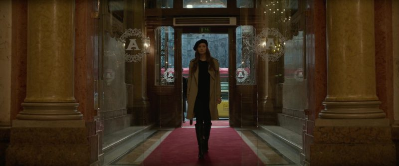 Trench Coat Worn by Jennifer Lawrence in Red Sparrow - Movie Outfits and Products