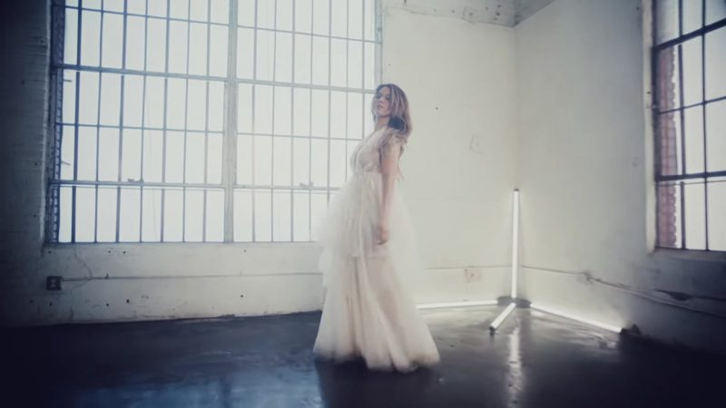 "White Dress Worn by Dinah Jane in ""Don't Say You Love Me"" by Fifth Harmony Music Video"