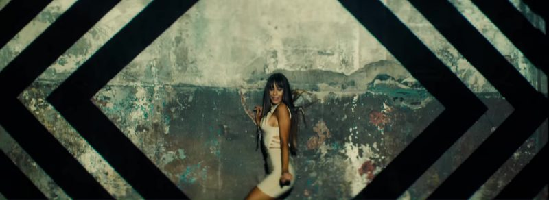 White Short Dress Worn by Model in Move To Miami by Enrique Iglesias Music Video