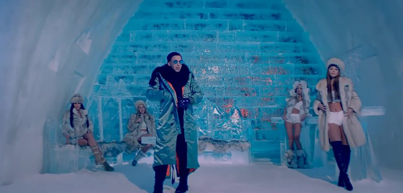Puffer Coat Worn by Daddy Yankee in Hielo Official Music Video - Youtube Outfits and Products