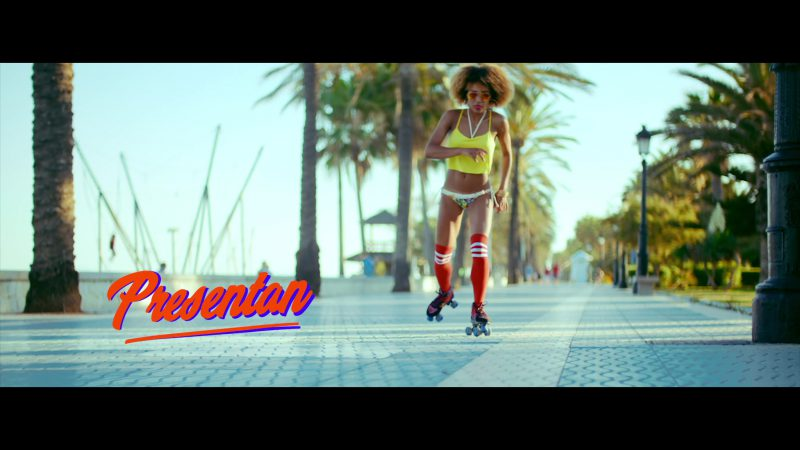 "Yellow Crop Top Worn by Model in ""Única"" by Ozuna Music Video - Female Fashion Outfits and Products"