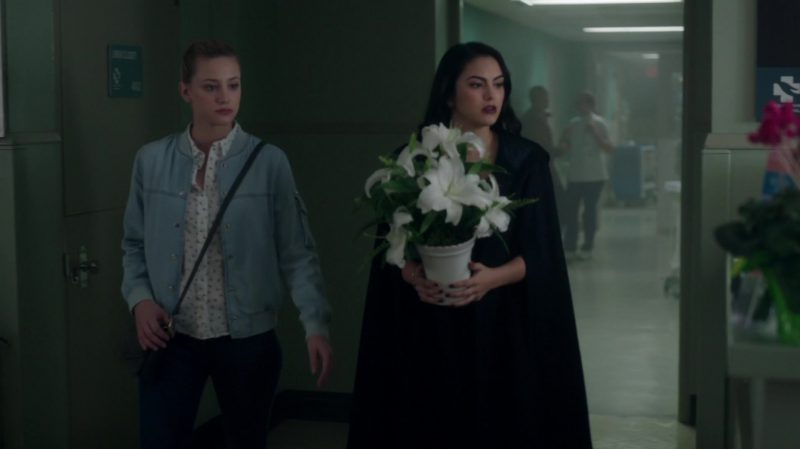 "Black Cape Worn by Camila Mendes in ""Riverdale"" TV Show"