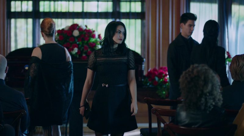 """Fashion Trends 2021: Black Dress Worn by Camila Mendes in """"Riverdale"""""""