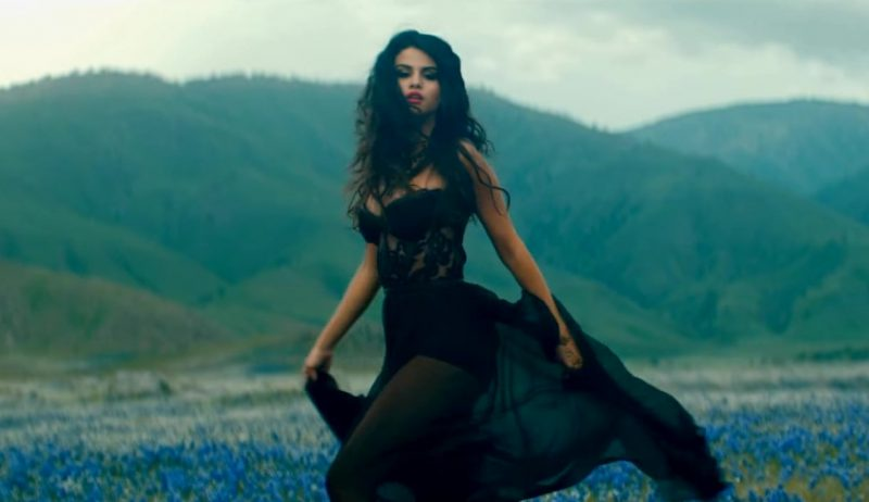 """Black Dress Worn by Selena Gomez in """"Come & Get It"""" Official Music Video - Female Fashion Outfits and Products"""