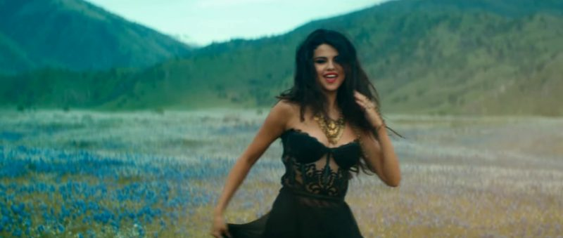 "Black Dress Worn by Selena Gomez in ""Come & Get It"" Official Music Video - Female Fashion"