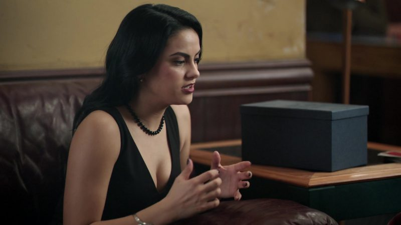 "Black Necklace Worn by Camila Mendes in ""Riverdale"" TV Show"