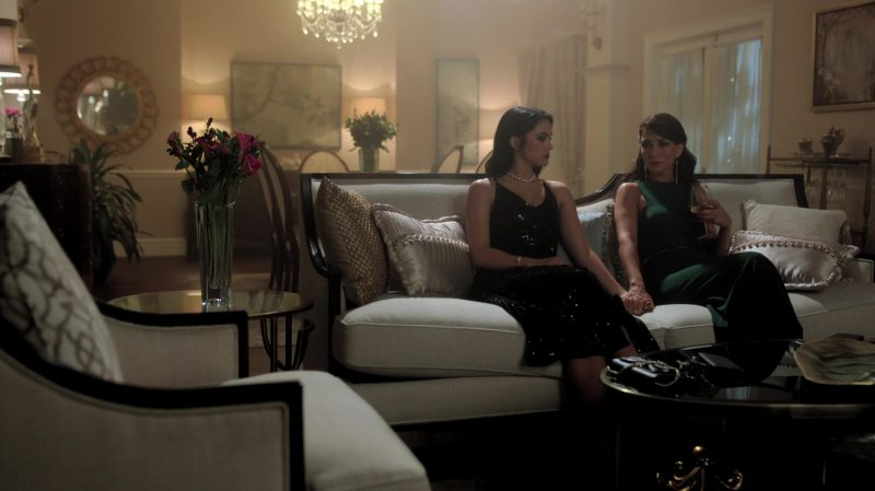 """Fashion Trends 2021: Black Sequin Dress Worn by Camila Mendes in """"Riverdale"""""""