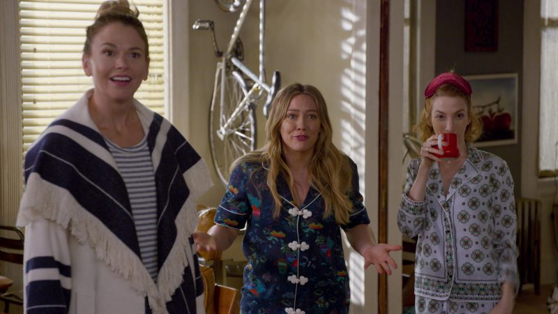 "Blue Pajama Worn by Hilary Duff in ""Younger"" TV Show"