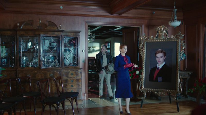 """Blue Skirt Suit Worn by Nathalie Boltt in """"Riverdale"""" TV Show"""