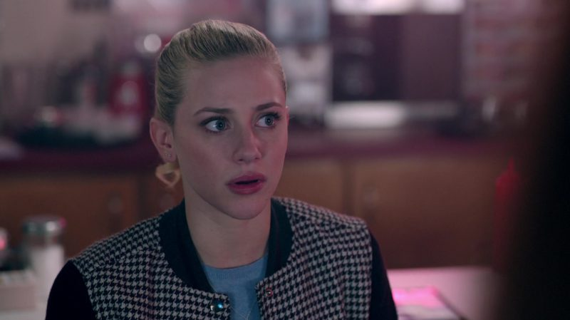 "Bomber Jacket Worn by Lili Reinhart in ""Riverdale"" TV Show"