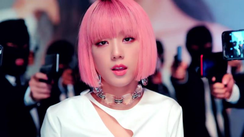 "Choker Necklace in ""DDU-DU DDU-DU"" K-Pop Music Video by BlackPink - Female Fashion Outfits and Products"