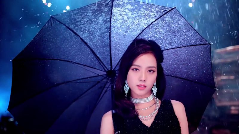 "Earrings and Necklace in ""DDU-DU DDU-DU"" K-Pop Music Video by BlackPink - Female Fashion"