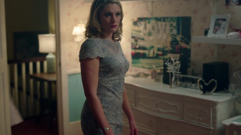 "Evening Dress Worn by Mädchen Amick in ""Riverdale"" TV Show - Female Fashion Outfits and Products"