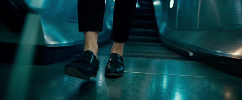 "Female  Celebrity Style:  Flat Shoes Worn by Natalie Dormer (""In Darkness"" Movie)"
