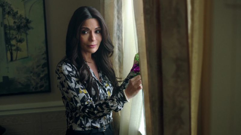 "Floral Blouse Worn by Marisol Nichols in ""Riverdale"" - TV Show Outfits and Products"