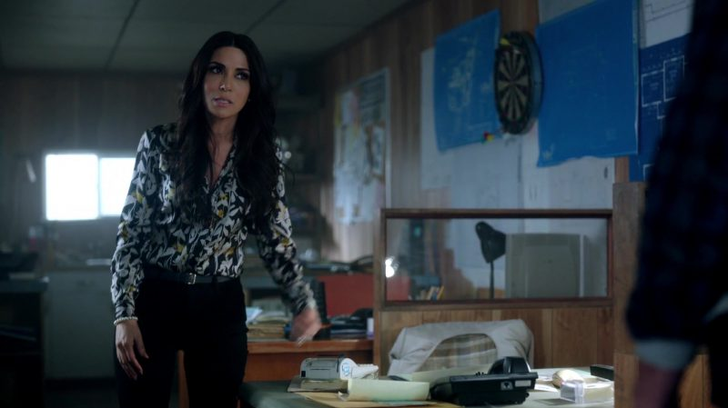 "Floral Blouse Worn by Marisol Nichols in ""Riverdale"" TV Show"