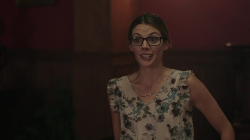 """Floral Dress Worn by Sarah Habel in """"Riverdale"""" - TV Show Outfits and Products"""