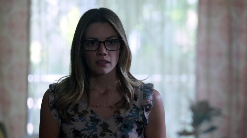 "Floral Dress Worn by Sarah Habel in ""Riverdale"" TV Show"