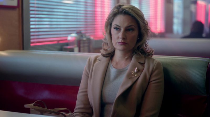 "Gold Rose Brooch Worn by Mädchen Amick in ""Riverdale"" TV Show"