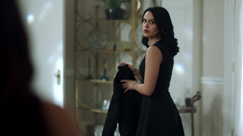 "Green Dress Worn by Camila Mendes in ""Riverdale"" TV Show"