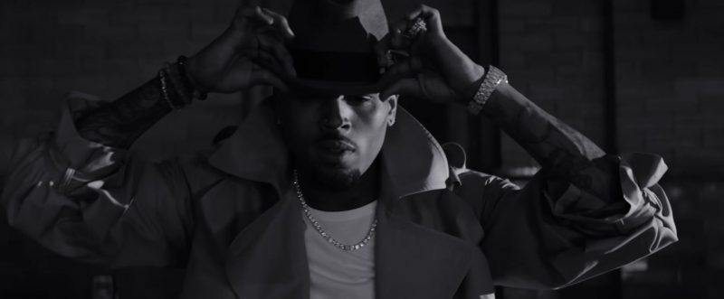 "Hat Worn by Chris Brown in ""Hope You Do"" Official Music Video"
