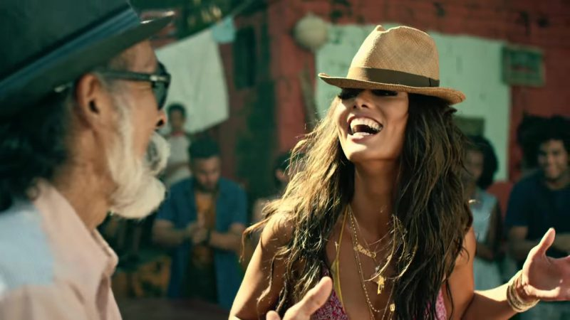 "Hat Worn by Zuleyka Rivera in ""Despacito"" by Luis Fonsi ft. Daddy Yankee Music Video"