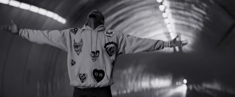 "Hoodie Worn by Chris Brown in ""Hope You Do"" Official Music Video - Male Fashion"