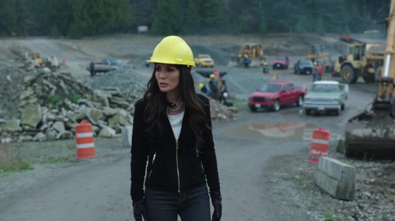 "Jacket and White Top Worn by Marisol Nichols in ""Riverdale"" TV Show"
