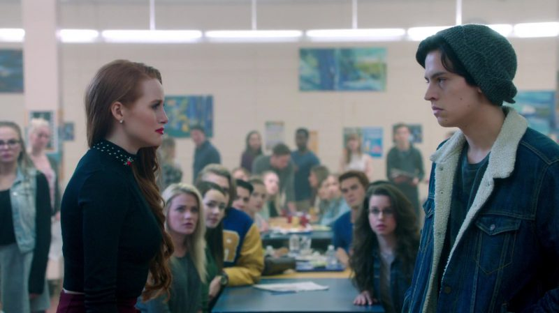 "Long Sleeve Top Worn by Madelaine Petsch in ""Riverdale"" TV Show"