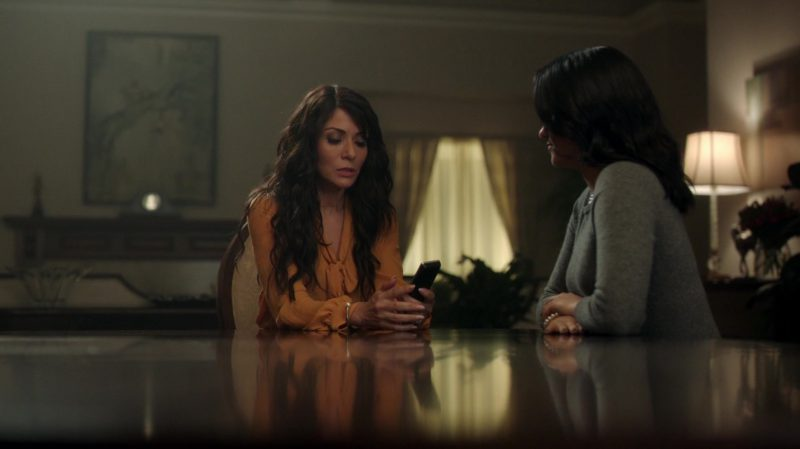 "Orange Blouse Worn by Marisol Nichols in ""Riverdale"" TV Show"