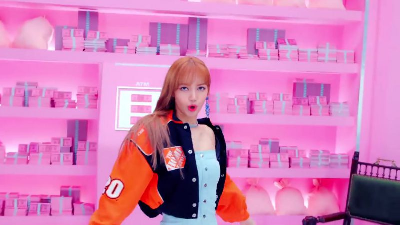 "Orange Jacket in ""DDU-DU DDU-DU"" K-Pop Music Video by BlackPink - Youtube Outfits and Products"